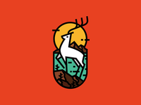 Deer by the Sea