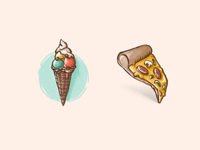 Food illustration food