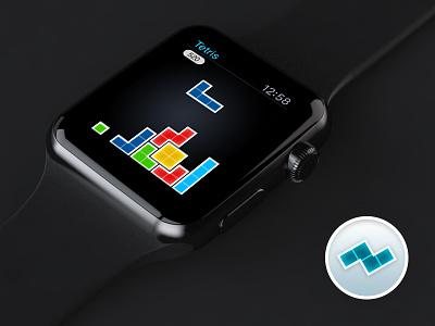 Tetris for Apple Watch (concept) design game classic watchos apple watch tetris