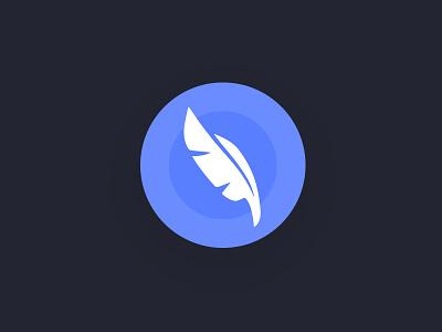 Tweet feather compose button tweet twitter