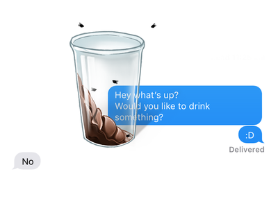 Rude! rude weird fun imessage stickers
