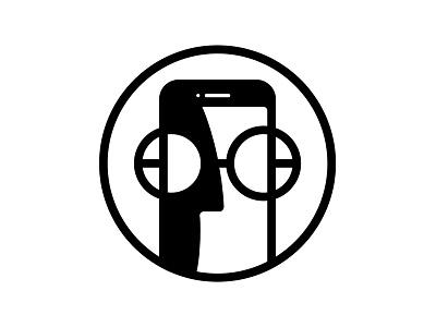 Applegetic B&W retro logo black and white technology blog apple applegetic