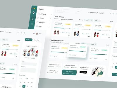 Team Collaboration Dashboard web design desgin minimal coopration collaboration website ux ui teamproject dashboard