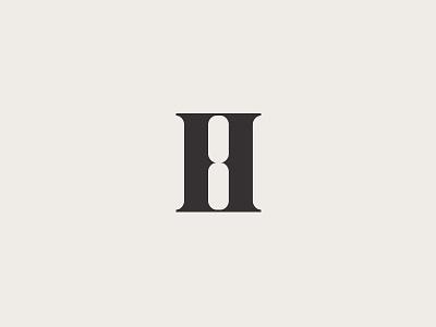 August Harvest harvest icon logotype brand mark minimal brandmark fashion h symbol