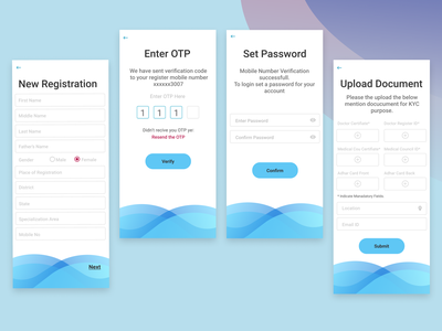 Signup flow with KYC (know your customer) design challenge adobexd design thinking it company userinterfacedesign figma design dribble daily ui thypography signup flow uidesigner illustration branding logo ux color background ui design app
