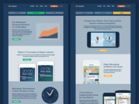 Nextpeer Website - Platform Pages
