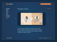 Nextpeer Website - Demopage