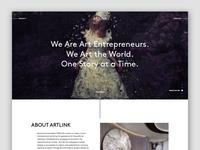 Artlink.com Landing Page