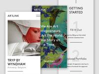 Artlink.com Mobile Screens
