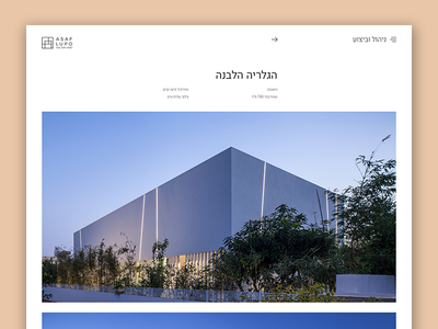 Asaf Lupo Project Page