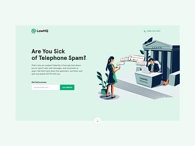 LawHQ- A Lawtech Firm Landing Page websitedesign landingpage lawagency lawtech law firm userexperience ux saas illustration website userinterface
