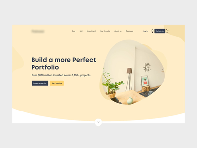 Property investment websites saas userinterface userexperience property management asset management portfolio management website