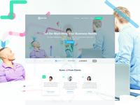 """Spynr"" website redesign"