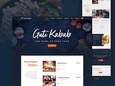 Restaurants Website design wireframinf userinterface restaurantswebsite website landingpage foodlandingpage food foodwebsit restaurants