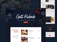 Restaurants Website design