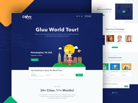 Gluu - World tour website