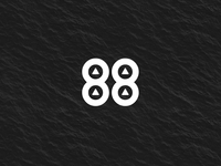 88 Rising Logo Design