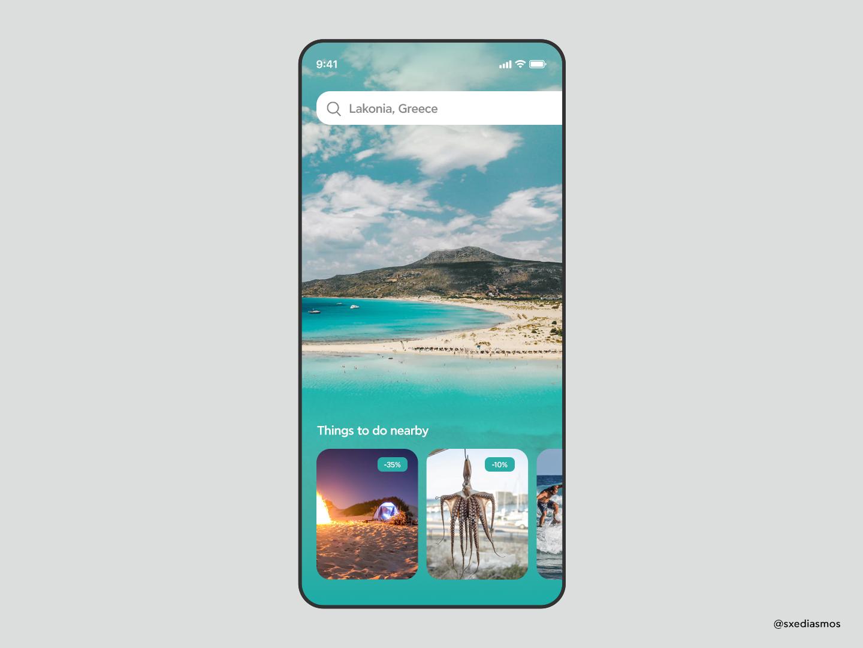 Travel App UI dribbbleshot iosdev icons instagram explore photo uidesign css prototyping webdesigntrends designinspirations dailyinspo uxui mobileinterface webdesigns uiux interfacedesign appdesign ui