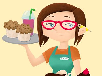 Kira & Gary webcomic characters - Kate comics webcomics character design illustration character illustration