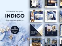 INDIGO Instagram Templates