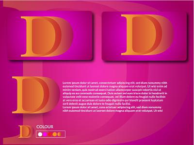 Unique Logo design logo flat typography graphic design design illustrator illustration branding