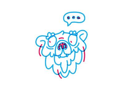 BEAR boring wondering color animal ours bear
