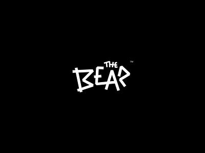 Bear branding animal the typography type logo brand bear