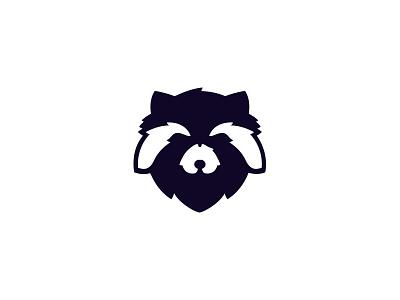 Logo raccoon logo rebound