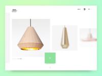 WebShop | Concept | David Derksen Design app design concept