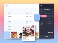Cafe | Event app design concept