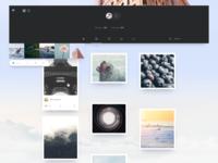 Stock Photos | Mood Board app design concept