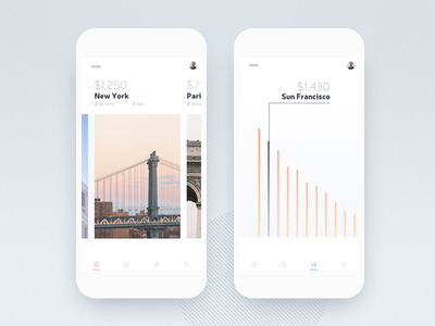 Travel app (Place info) app design concept tourism travel hostel hotel ui ux sketch android mobile ios iphone flat clean simple art animation interface