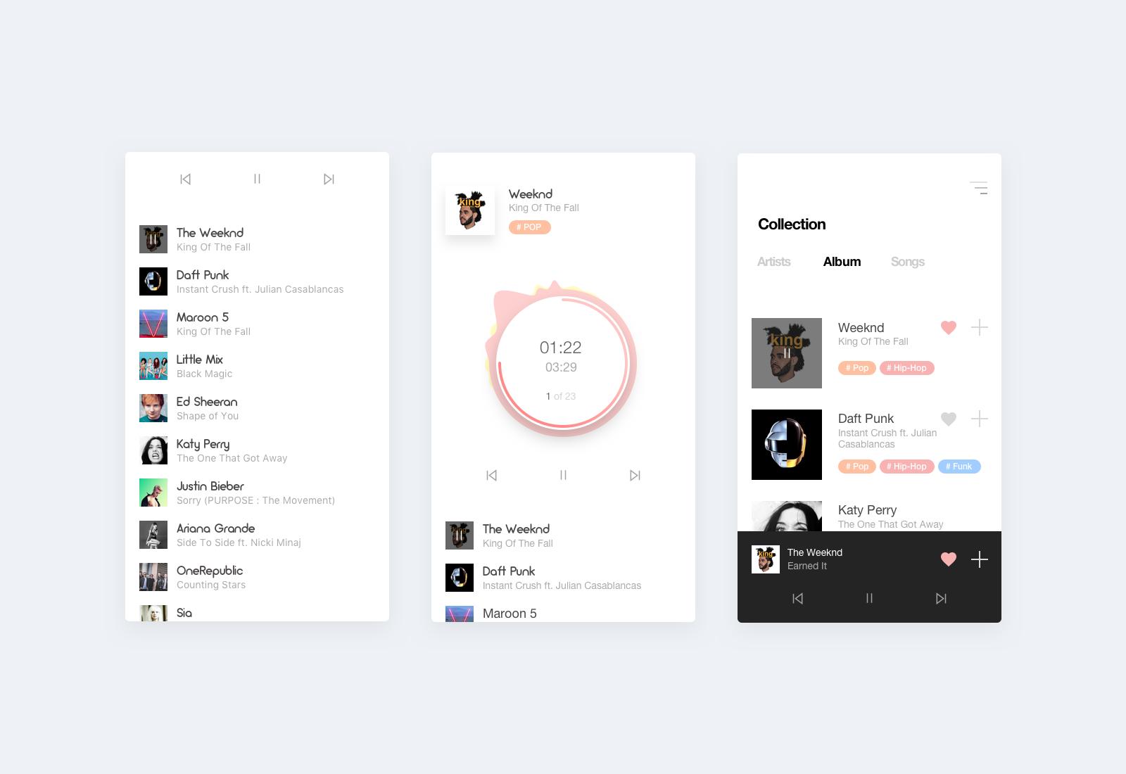 Player app