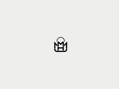MHM logo typography graphicdesign graphic designer design branding brand almaghriby logo illustrator