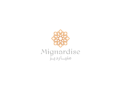 Mignardise graphicdesign calligraphy logo design designer branding brand logo almaghriby typography illustrator