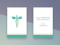 Medical business card
