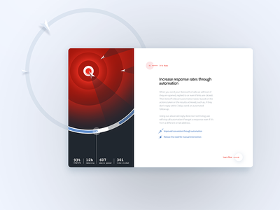 Response Rates iconography marketing email branding app website a.i abstract minimal illustration ux ui