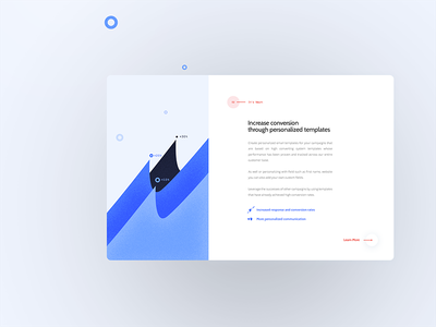 Increase Conversion 02 iconography marketing email branding app website a.i abstract minimal illustration ux ui