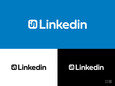 Linkedin Logo Redesign identity design branding redesign logo linkedin