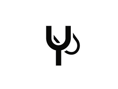 Slingshot Logo design minimal simple flat slingshot icon logo