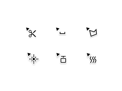 Plumis - Cursor Icons fire sprinkler icons pointers mouse web plumis tool set icon cursor