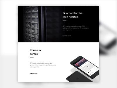 Neit - Landing Page hardware landing ux ecommerce product web ui