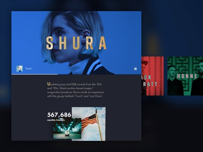 Spotify Stories spotify concept ux ui interactive app web stories music
