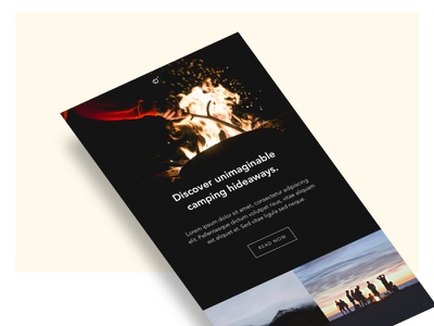 Jet - Email Newsletter fashion travel creative market theme template web graphic design ui newsletter email