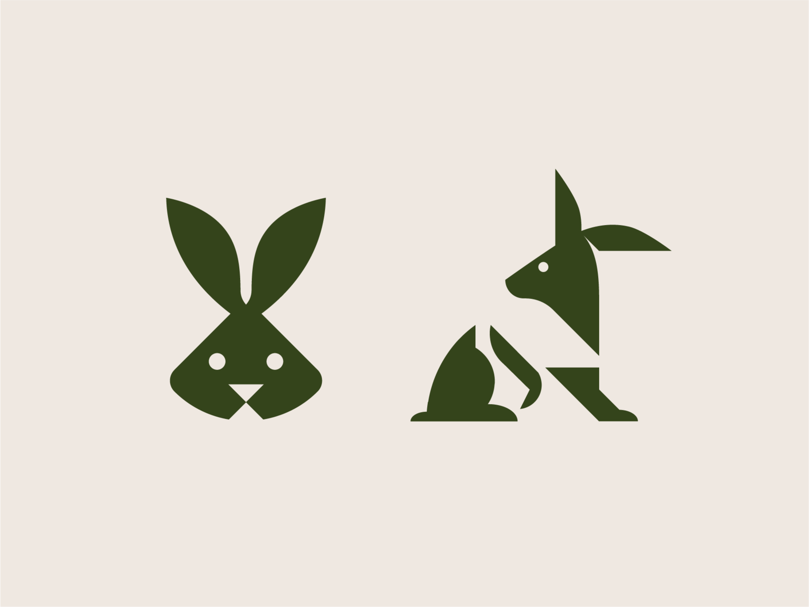 Стилизованный заяц картинки