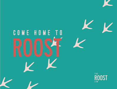 Come Home to Roost vector monogram design typography logo design graphic design logo freelance graphic designer freelance logo designer freelance design branding design branding branding strategy