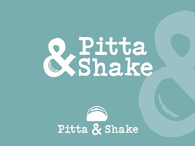 Pitta & Shake Logo Concept freelance design logo design concept freelance designer freelance logo designer brand freelance branding design logo mark logo designer typography typeface graphic design logo design logotype logo