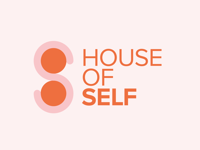 House of Self Unused Concept vector monogram freelance design freelance logo designer design typography logo designer logo design graphic design branding logo
