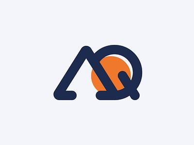 AQ Icon identity branding identity design branding and identity idenity logo design branding typography logo design graphic design branding logo
