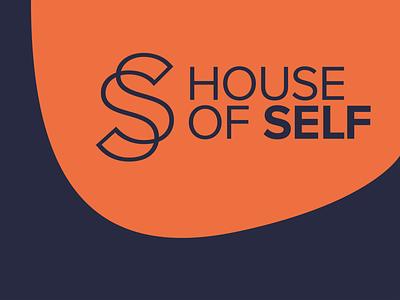 House of Self mental health logo designer freelance logo designer freelance design monogram design typography logo design graphic design branding logo